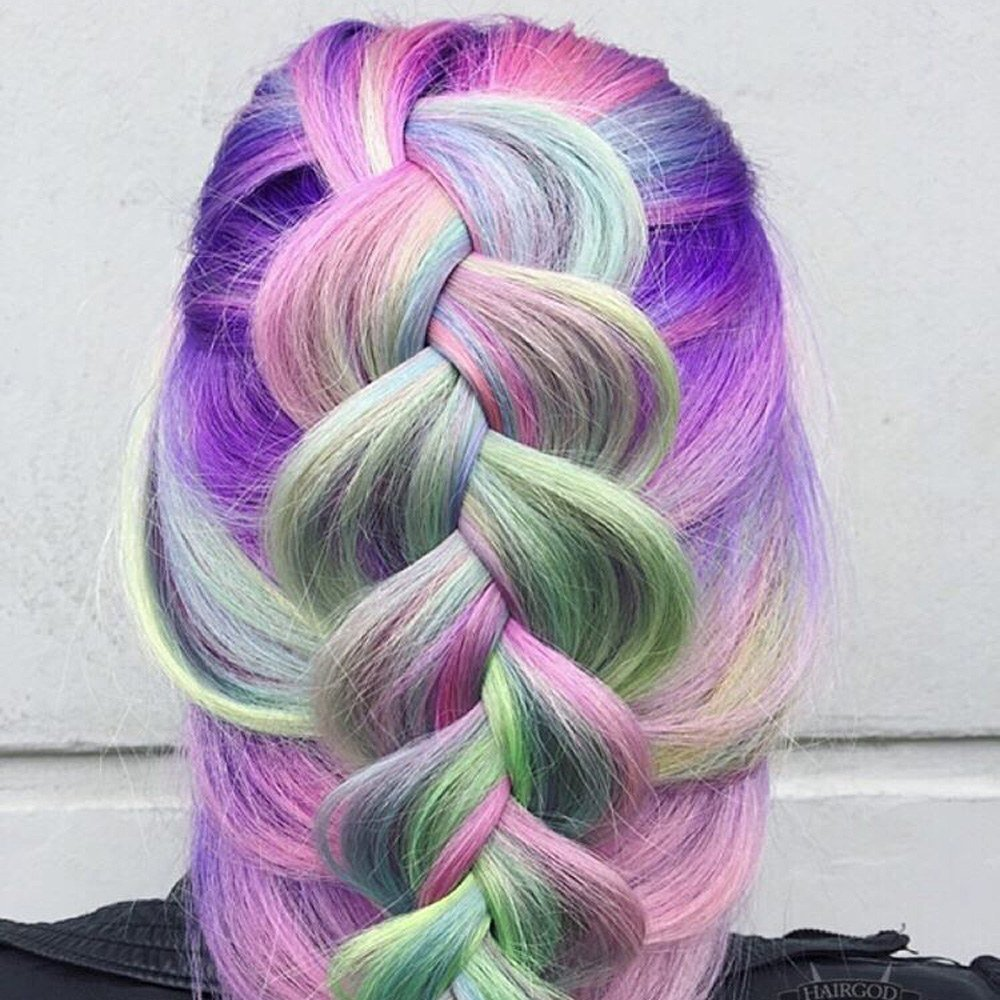 The Best Unicorn Hair Color Trend Colorful Hair Color Trends Pictures