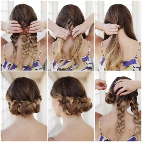The Best Lovely Braided Hairstyle Tutorials That You Can Make On Pictures