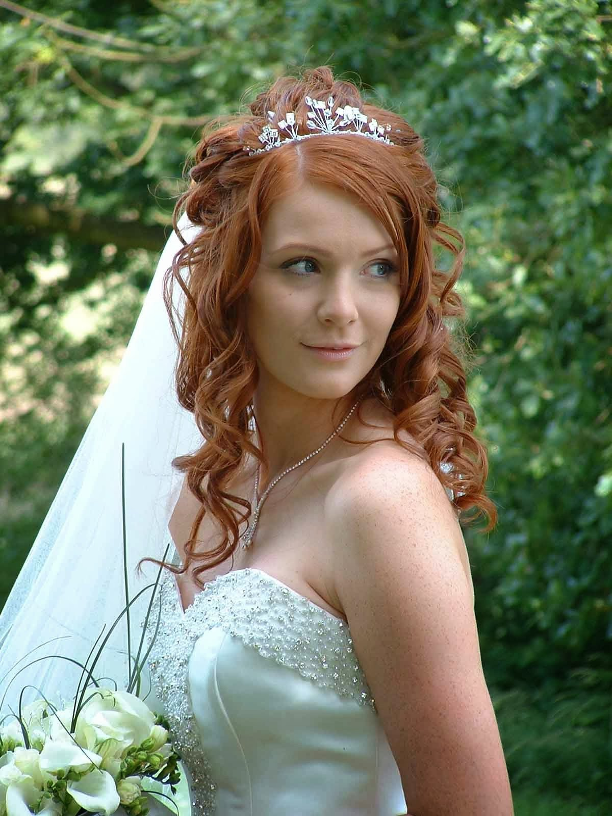 The Best Wedding Hairstyles With Tiara 2014 Hairstyle Trends Pictures