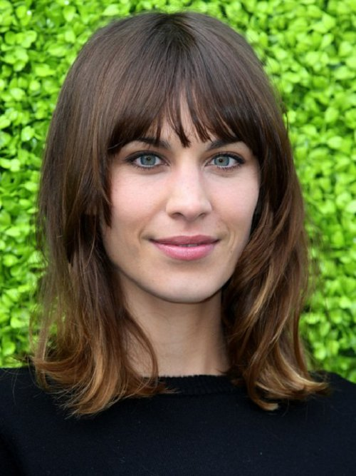 The Best Popular And Latest Hairstyles With Bangs For Women 2013 Pictures