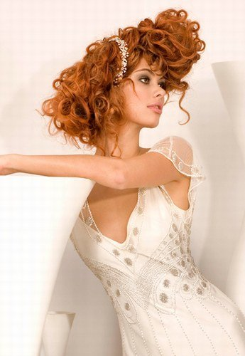 The Best Poisonyaoi Curly Wedding Hairstyle Pictures