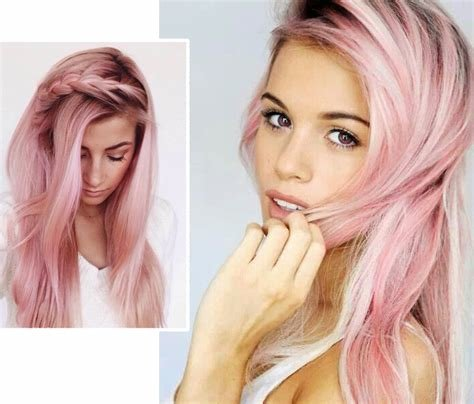 The Best Pink Hair The Trend The Dye The Temporary Solution Pictures