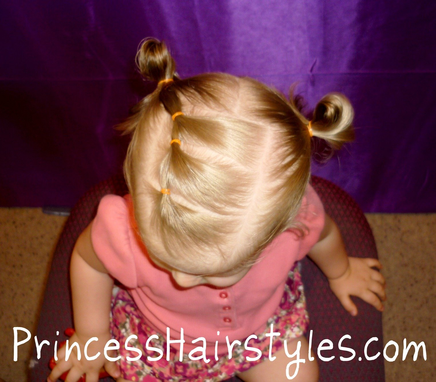 The Best Toddler Hairstyles Elastic Braid Pigtails Hairstyles Pictures