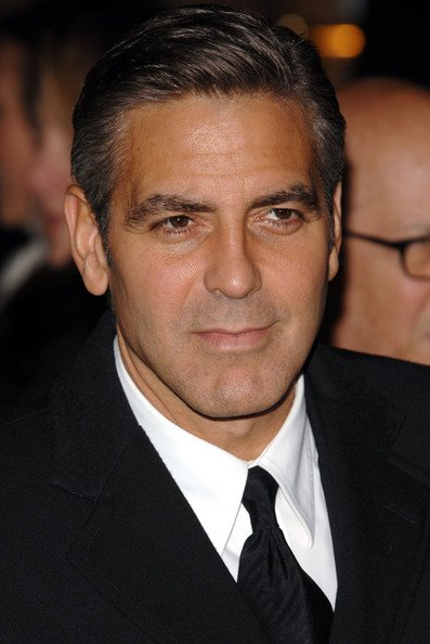 The Best George Clooney Cool Short Hairstyle Men Hairstyles Pictures