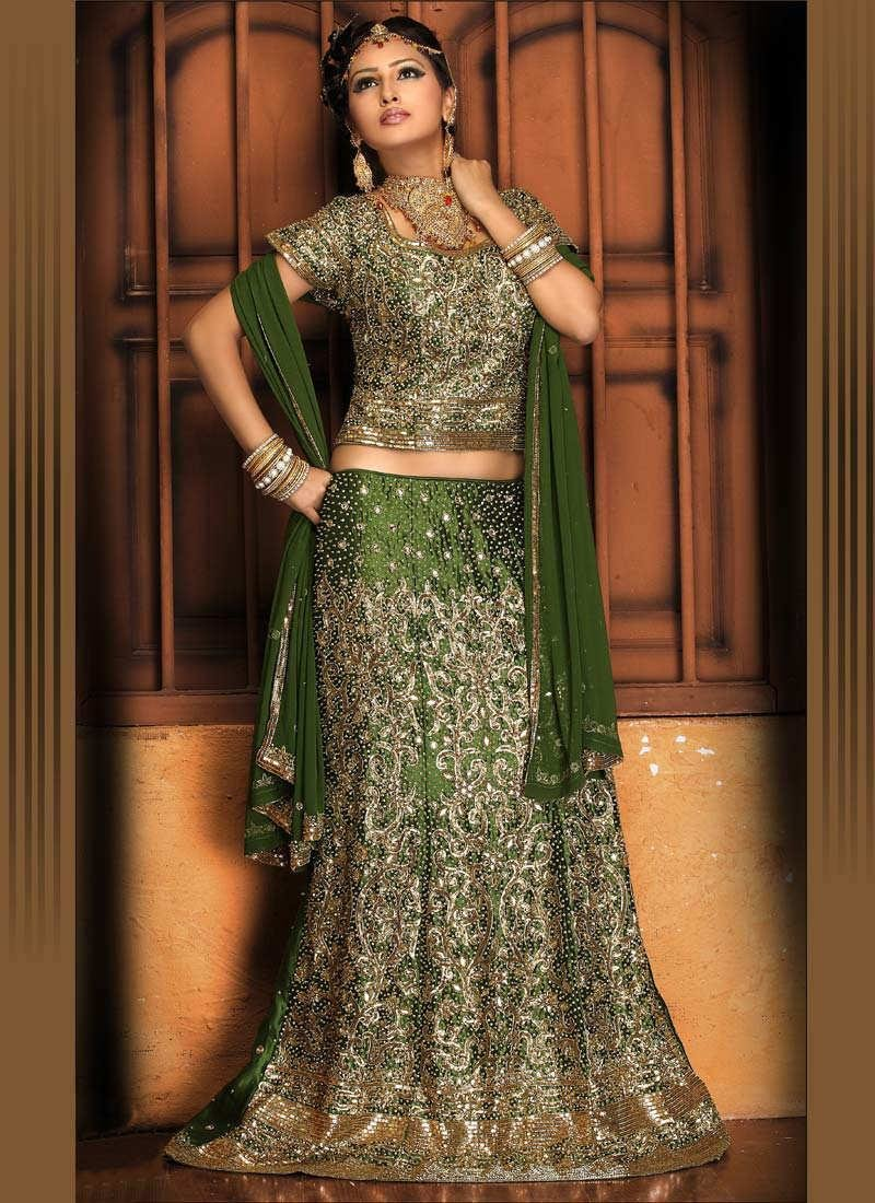 The Best Hair Style Indian Lengha Choli Pictures