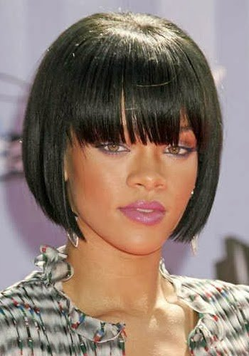 The Best Rihanna Black Celebrity Bob Hairstyles Free Wallpapers Pictures
