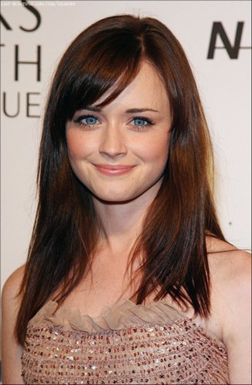 The Best Alexis Bledel Hairstyle 06 Fresh Look Celebrity Hairstyles Pictures