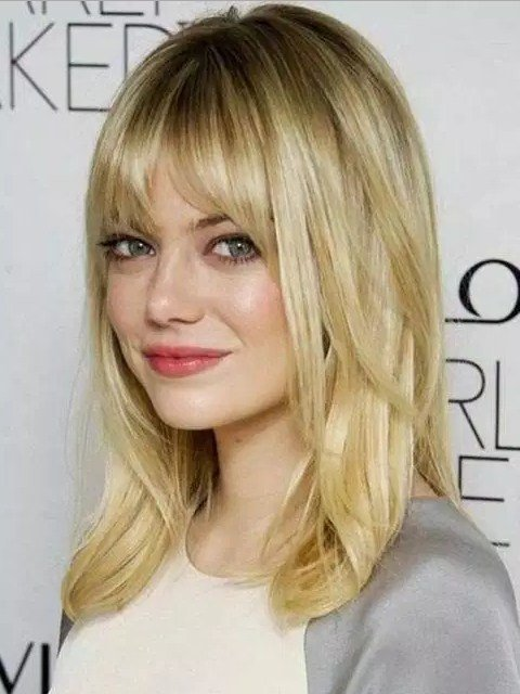 The Best Medium Length Hairstyles For Teenage Girls With Round Faces Female Spots Pictures