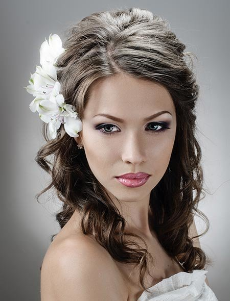 The Best Haircuts For Long Faces Wedding Hairstyles Down Best For Pictures