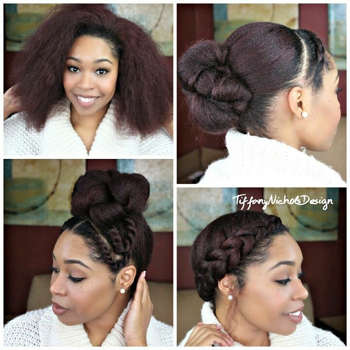 The Best Natural Hair 3 Quick Styles For A Bl*W Out Curlynikki Pictures