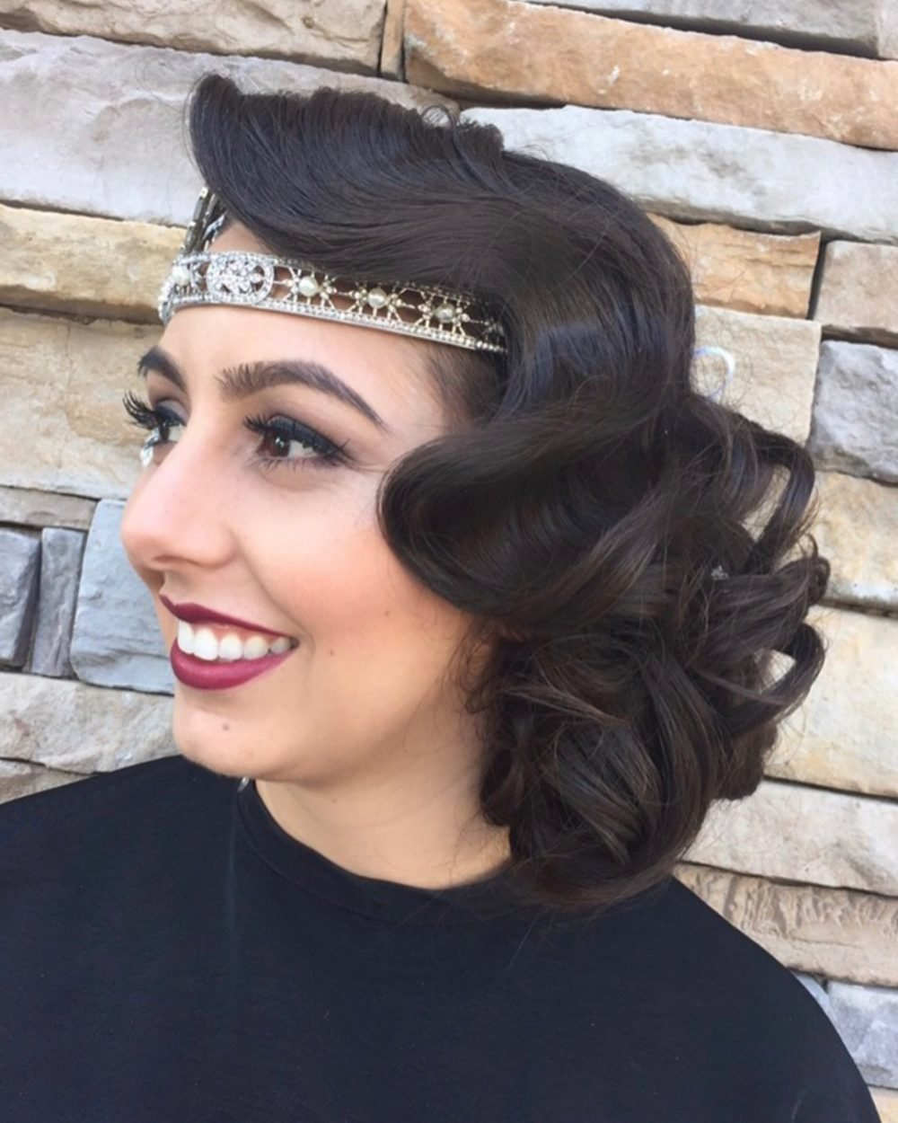 The Best Vintage Glam 15 Roaring 20S Hairstyles Pictures