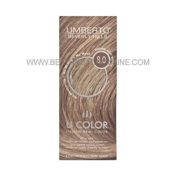 The Best Umberto U Color Natural Light Blonde 8 Beauty Stop Online Pictures