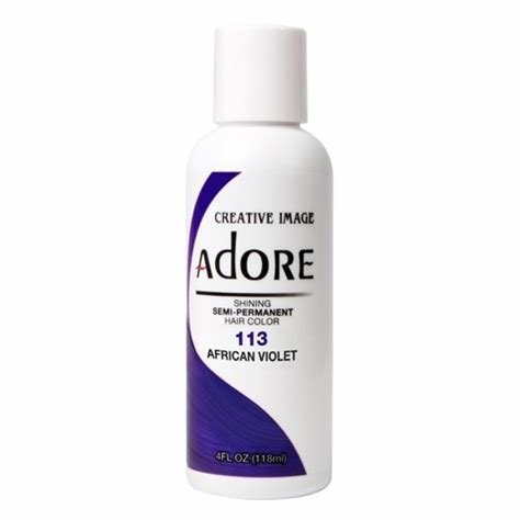 The Best Adore Semi Permanent Hair Dye African Violet At I Kick Shins Pictures