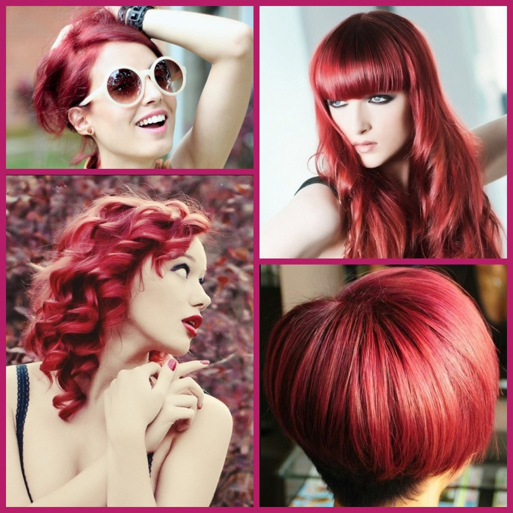 The Best Stylenoted Hair Color Inspiration Formula For Raspberry Red Pictures