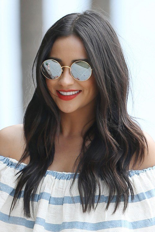 The Best Shay Mitchell S Hairstyles Hair Colors Steal Her Style Pictures