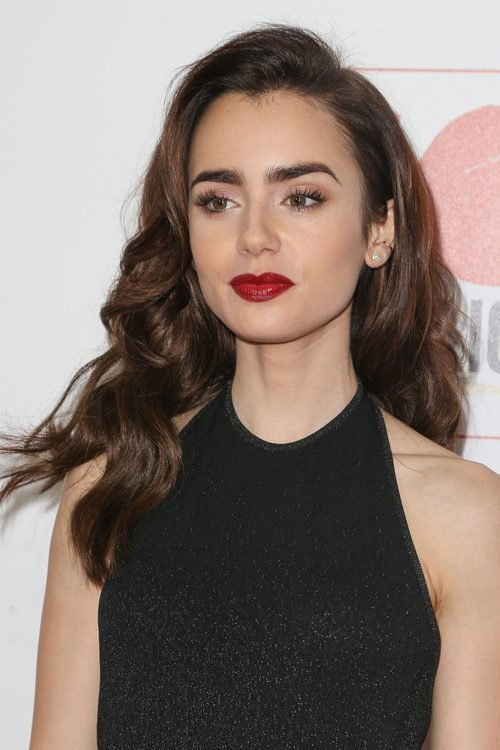 The Best Lily Collins Hairstyles Hair Colors Steal Her Style Pictures