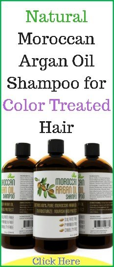 The Best Natural Moroccan Argan Oil Shampoo For Color Treated Hair Pictures