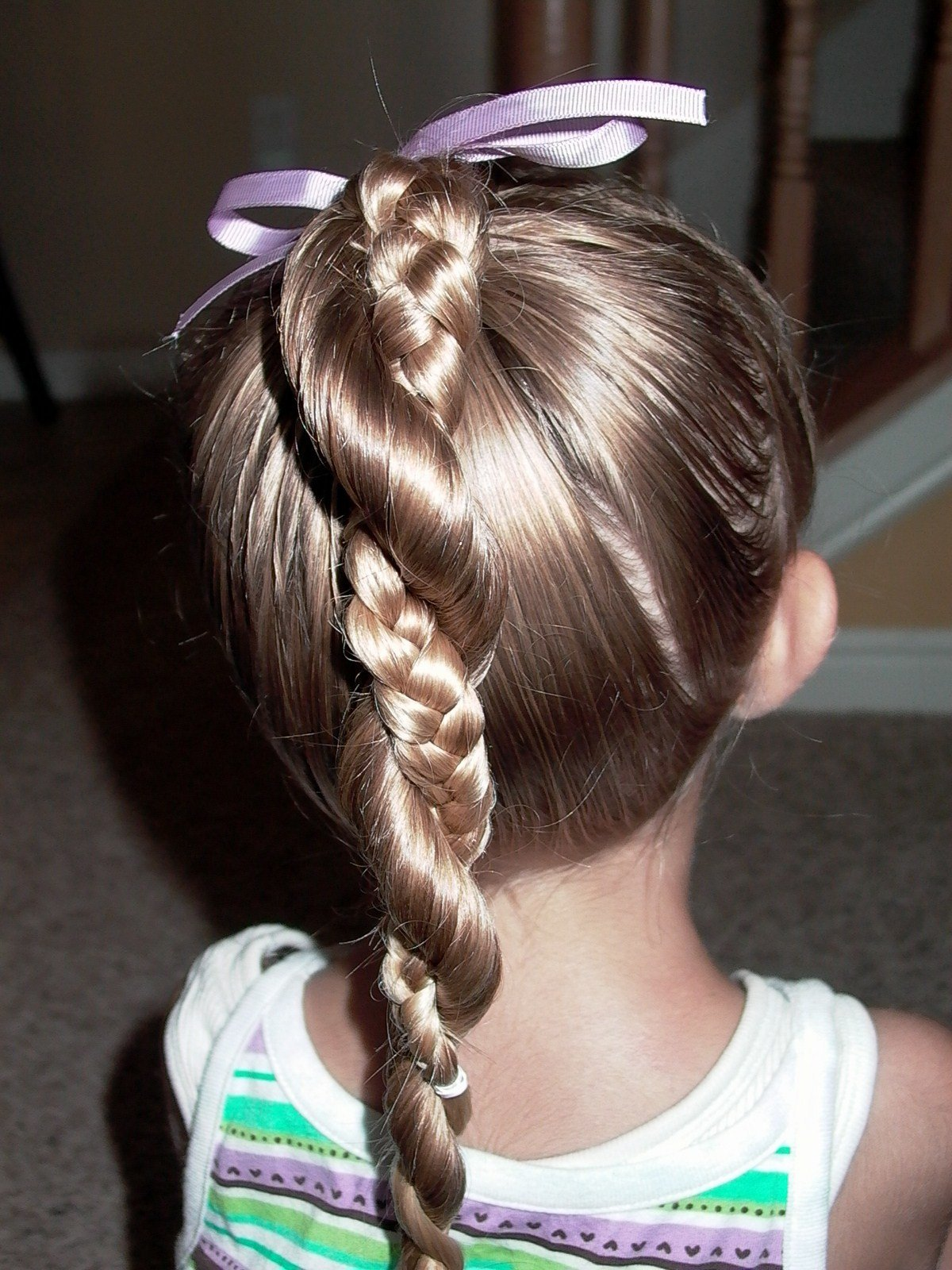The Best Little Girl S Hairstyles Easy Twist Around Braided Pictures