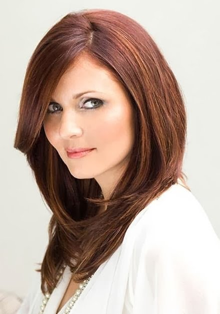 The Best Medium Hairstyles For Round Faces Notonlybeauty Pictures
