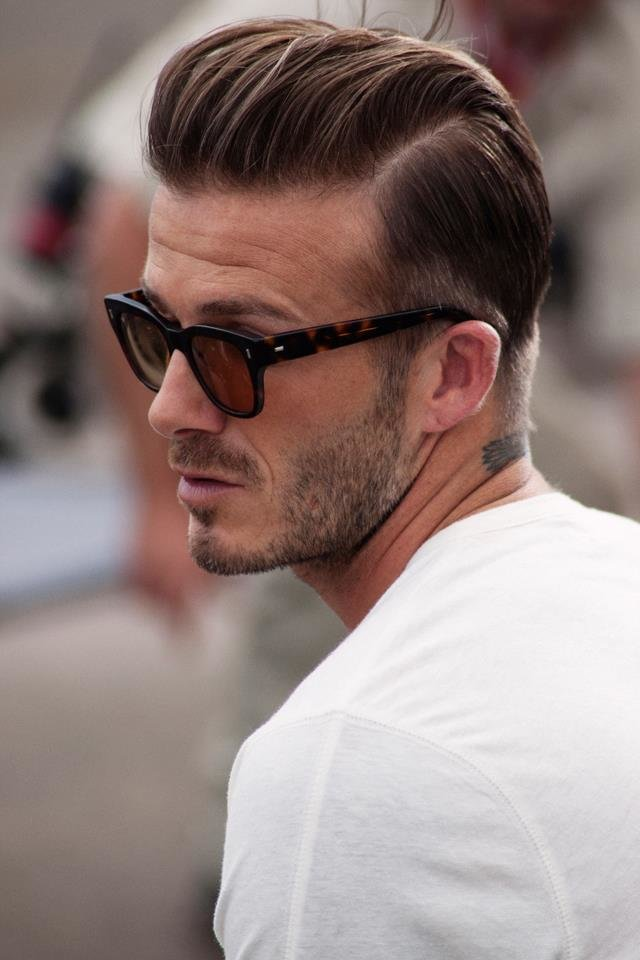The Best David Beckham Hair Styles Sports Stars Pictures