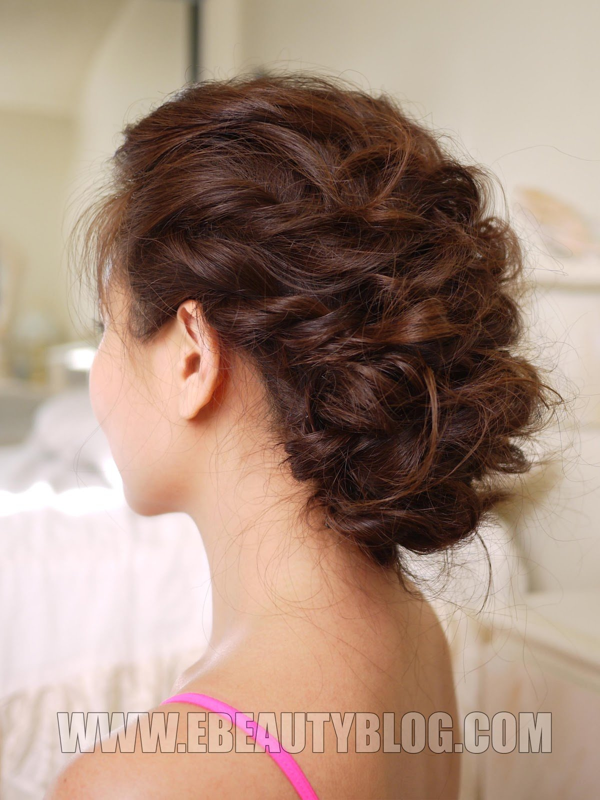 The Best Ebeautyblog Com Easy Messy Updo Hair Tutorial Pictures