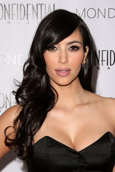 The Best Kim Kardashian Curly Hairstyles 2012 Hairstyle Ideas Pictures