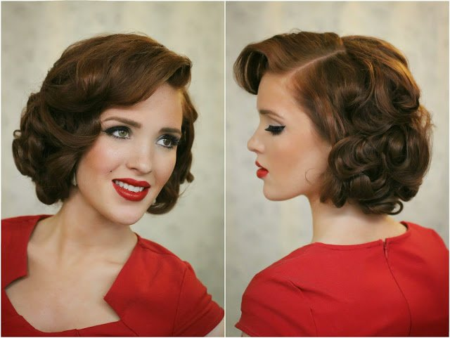 The Best The Freckled Fox Modern Pin Up Week 5 Upright Pin Curls Pictures