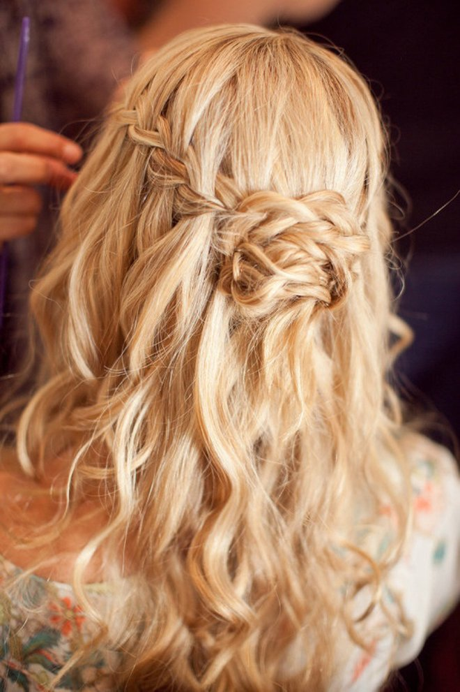 The Best Wedding Trends Braided Hairstyles Part 3 Belle The Magazine Pictures