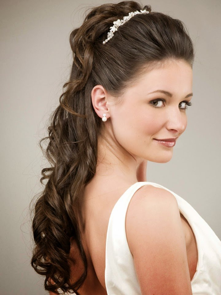 The Best Beautiful Wedding Hairstyles For Long Hair Mens Pictures