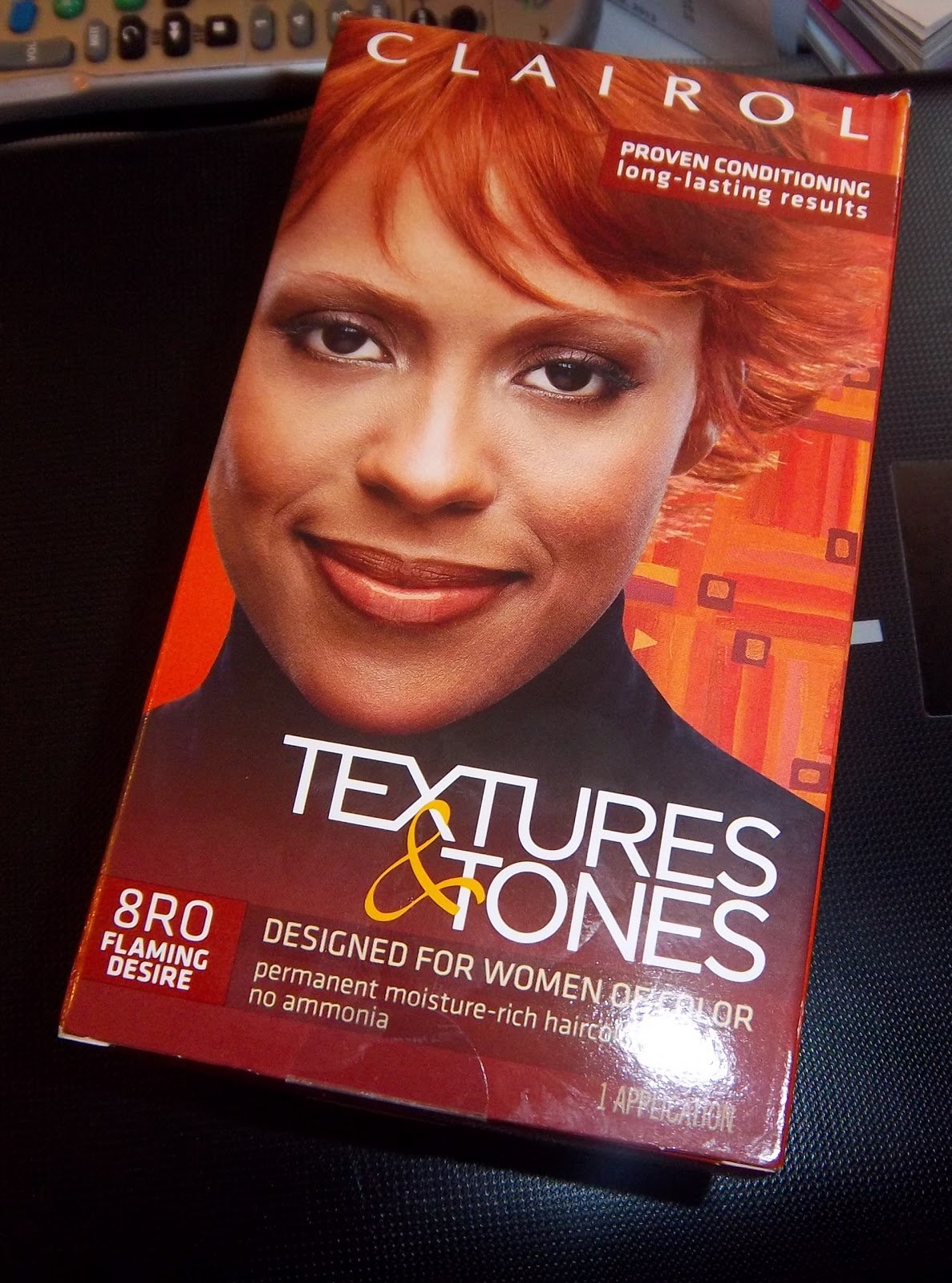 The Best Rural Glamour I Colored My Hair Clairol Textures Tones In Flaming Desire Pictures