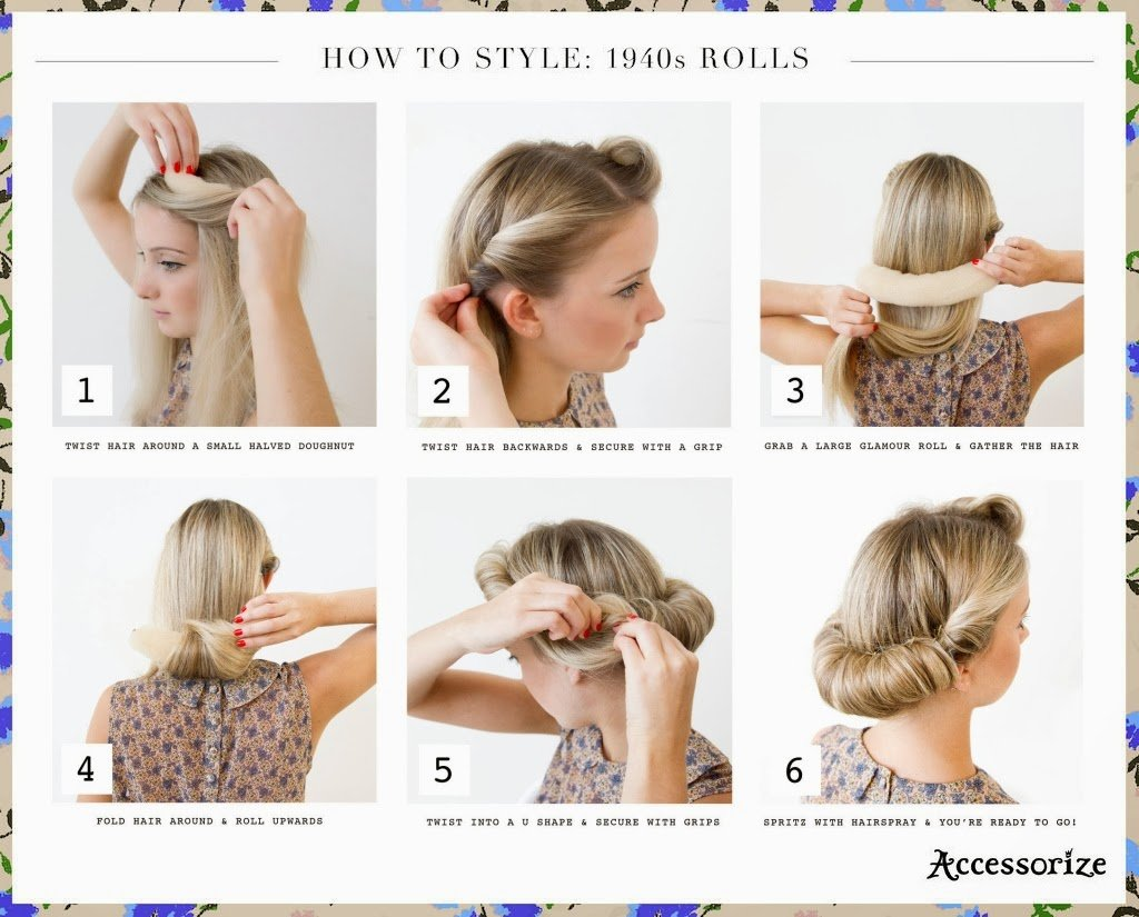 The Best Easy 40S Hairstyles 73104 Easy 1940S Hairstyles For Long Pictures