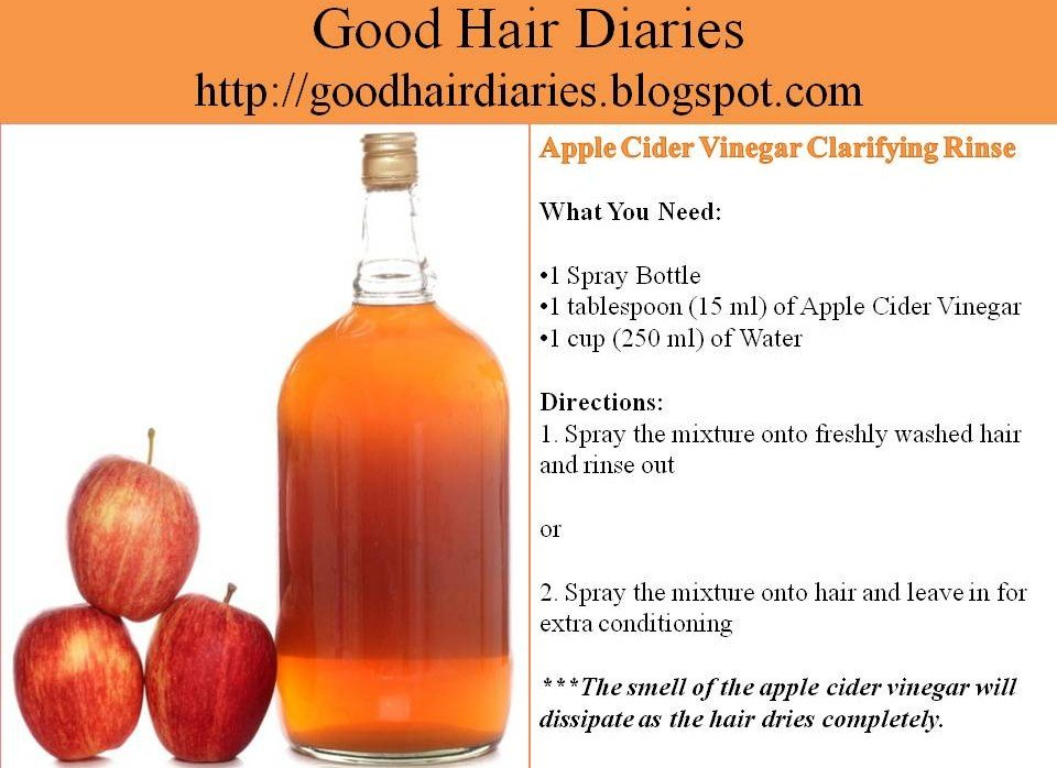 The Best Hair Tip Tuesday Apple Cider Vinegar Clarifying Rinse Pictures