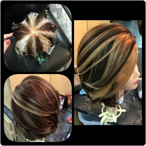 The Best Hot New Hair Coloring Technique Pinwheel Color The Pictures