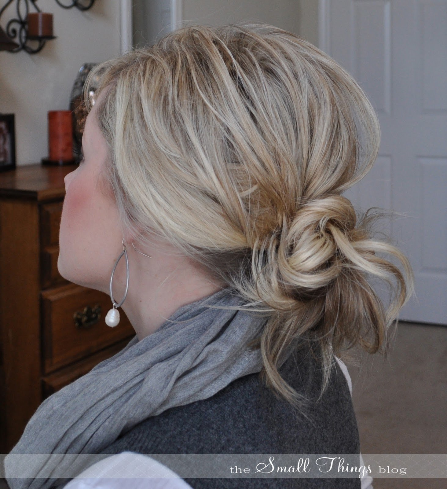 The Best Messy Ponytail Bun – The Small Things Blog Pictures