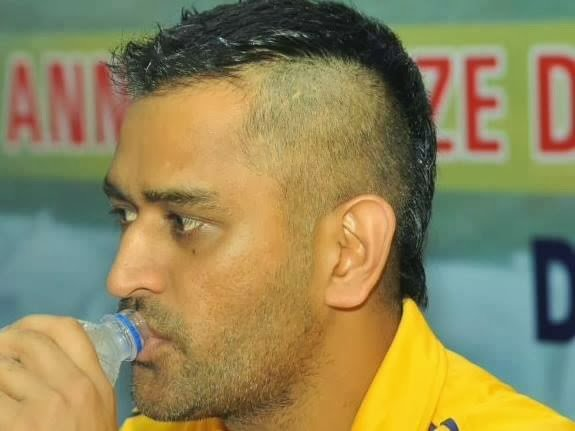 The Best Indian Cricket Captain Ms Dhoni New Hair Style Photos Pictures