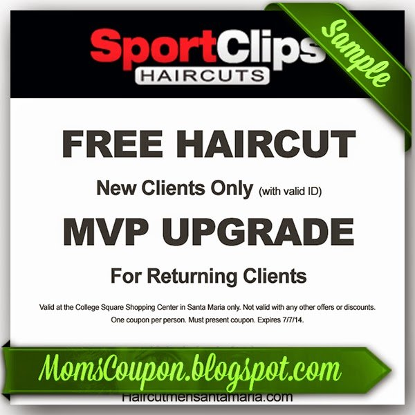 The Best Get Sport Clips Coupons 2015 25 Off Mvp Free Printable Coupons 2015 Pictures