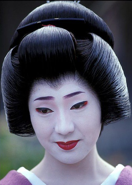 The Best Ŧhe ₵Oincidental Ðandy The Intricate Hairstyles Of Geisha Pictures