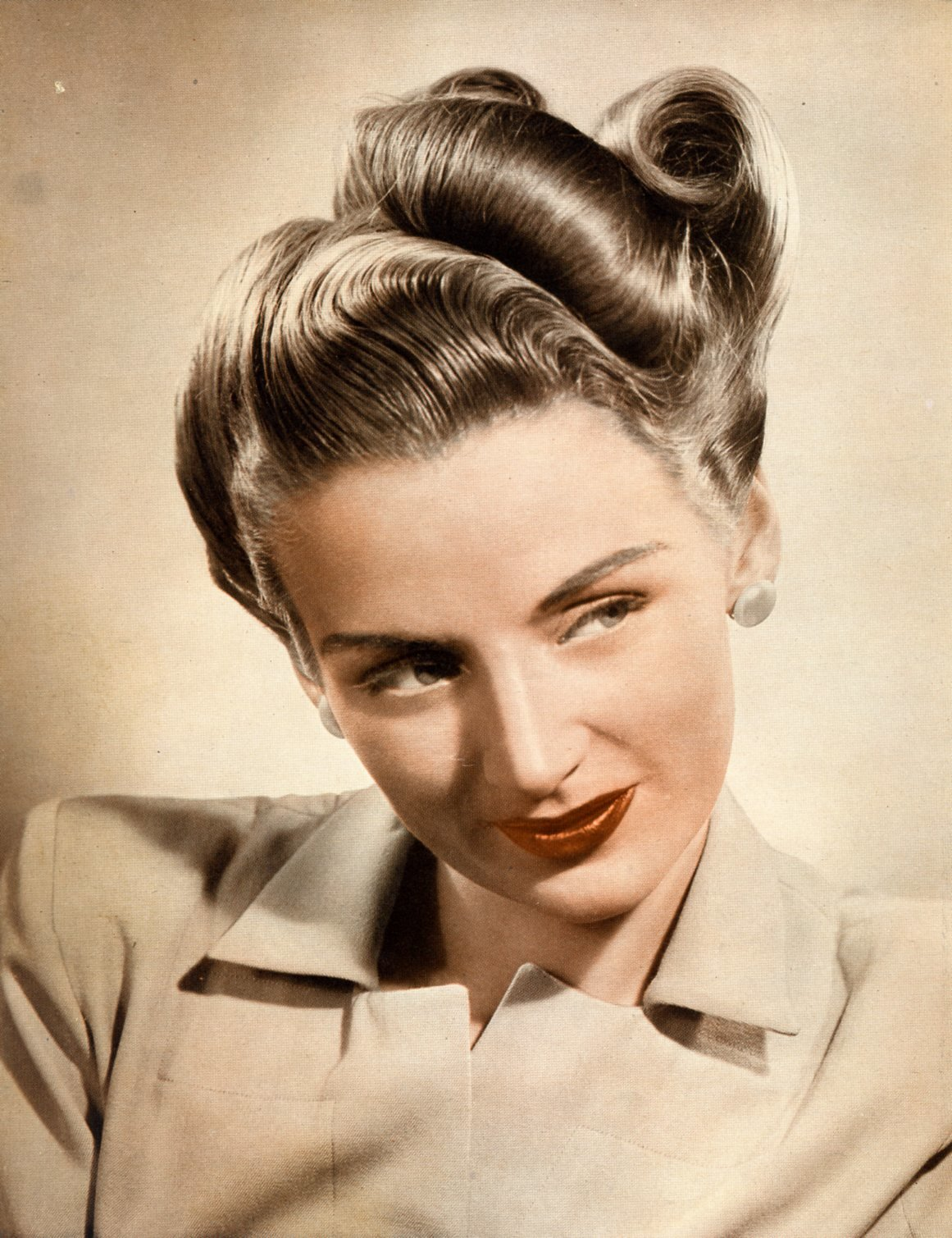 The Best Beauty Is A Thing Of The Past Be Exact In Building Pin Curls Pictures