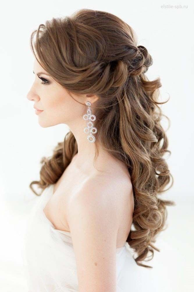The Best 55 Romantic Wedding Hairstyle Ideas Having A Perfect Pictures