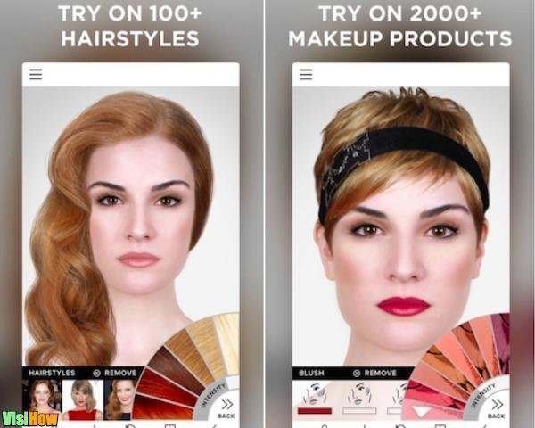 The Best Virtual Makeover Ios Apps Modiface Virtual Makeover Vs Pictures