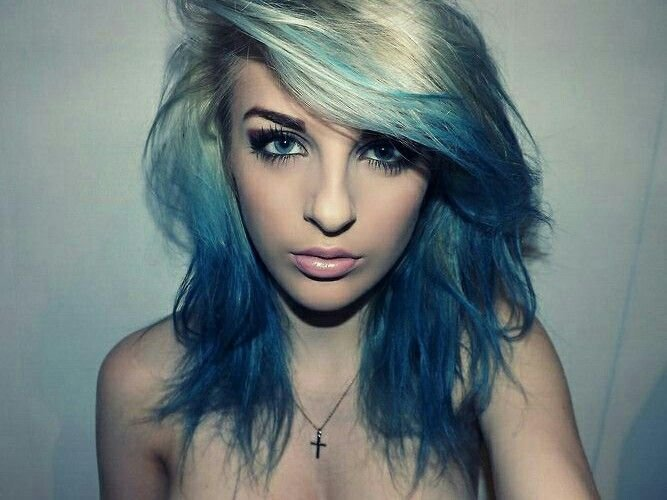 The Best Blue Highlight Ideas Hair World Magazine Pictures