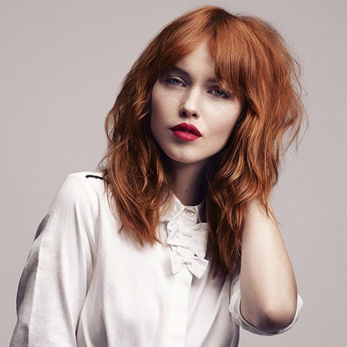 The Best Medium Length Auburn Red Hairstyles Hair World Magazine Pictures
