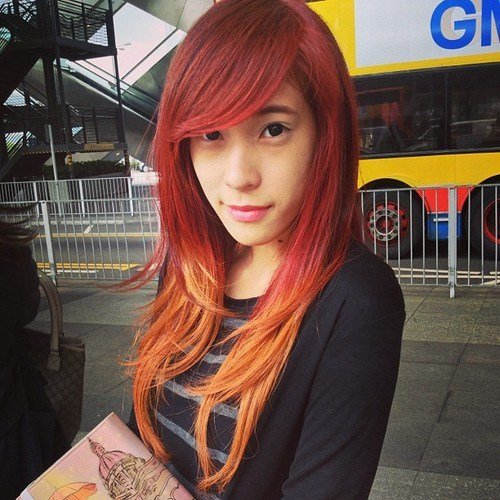 The Best Fire Red Ombre Hair Hair Colors Ideas Pictures