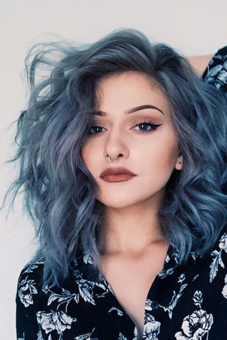 The Best The Denim Effect Denim Blue Hair Colors You Ll Love Pictures