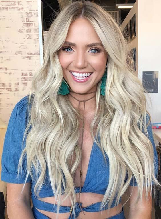 The Best 60 Best Vanilla Ice Blonde Hair Color Styles For 2018 Pictures