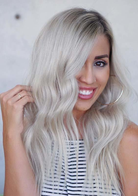 The Best 36 Fantastic Rooty Blonde Hair Color Ideas For 2018 Hollysoly Pictures