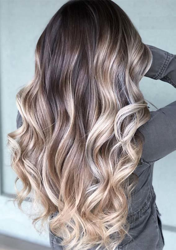 The Best Glorious Balayage Hair Colors Contrasts To Try In 2019 Hollysoly Pictures