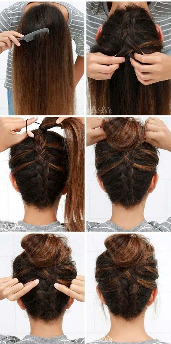 The Best 40 Easy Step By Step Hairstyles For Girls Pictures