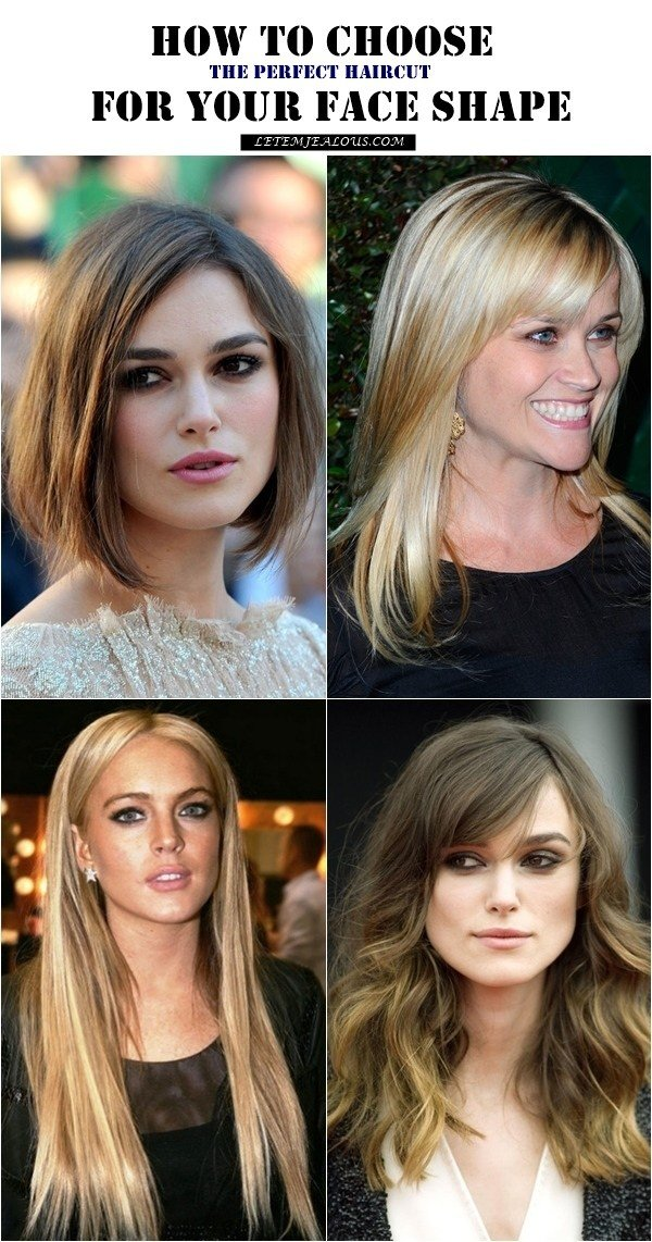 The Best How To Choose The Perfect Haircut For Your Face Shape Pictures