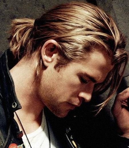The Best Ponytail Haircuts Best 40 Ponytail Hairstyles For Boys Pictures